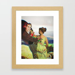 Interdimensional Visitor Framed Art Print