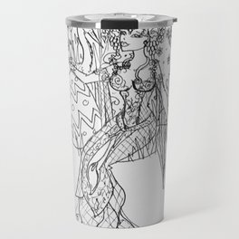 Ostara sketch Travel Mug