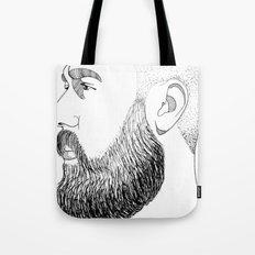 beard gold Tote Bag