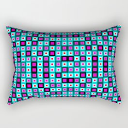 Patterns Squares Lights Rectangular Pillow