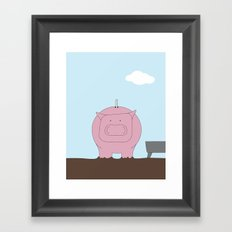 Moneybox Framed Art Print