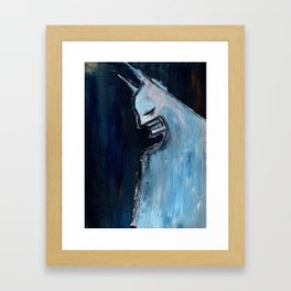 Old Bat Framed Art Print