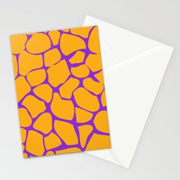 Neon Giraffe Stationery Cards