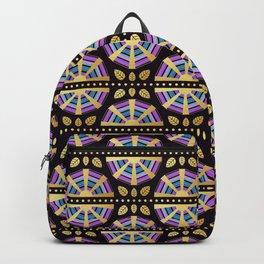The Golden Age Art Deco Fan Backpack