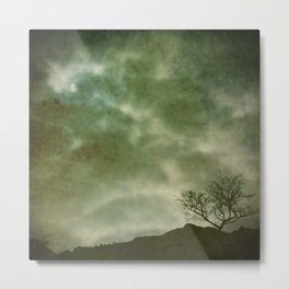Whispered Darkly Metal Print