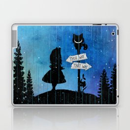 Any Road Will Get You There - Alice In Wonderland Laptop & iPad Skin