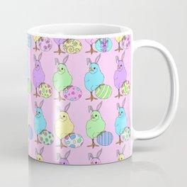Easter Chicks Pink 3 Coffee Mug