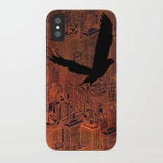 Ecotone (night) iPhone X Slim Case