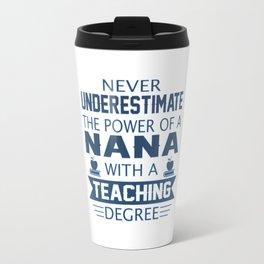 Nana Teacher Travel Mug