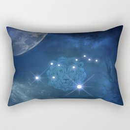 Zodiac signs leo Rectangular Pillow