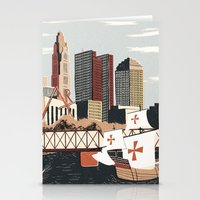 ohio Stationery Cards featuring Columbus, Ohio by Sam Brewster