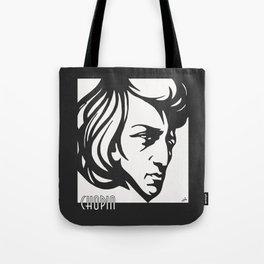 Art Deco style Chopin Tote Bag