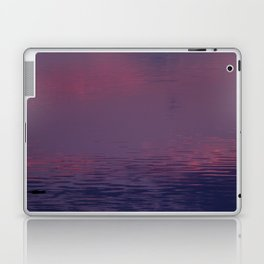 Sunset in the pond Laptop & iPad Skin