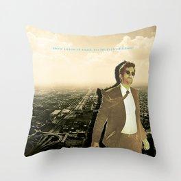 Powers Throw Pillow
