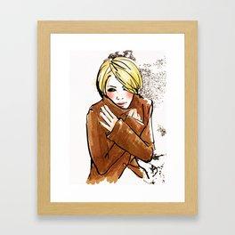 Its Cold... Framed Art Print