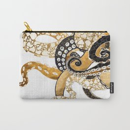 Metallic Octopus Carry-All Pouch
