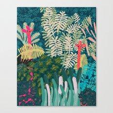 The Giraffes Canvas Print