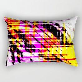 Aesthetic Urban Abstract Visual Art Beach Sunset Rectangular Pillow