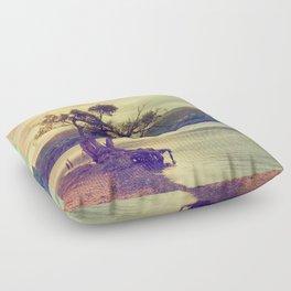 Autumn Lakeside Floor Pillow