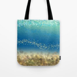 Abstract Seascape 04 wc Tote Bag