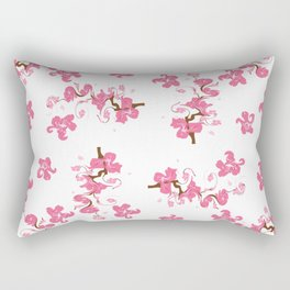 Spring. blooming trees Rectangular Pillow