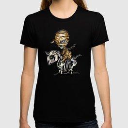 Mythical Creatures Chibi Mummy Unicorn T-shirt