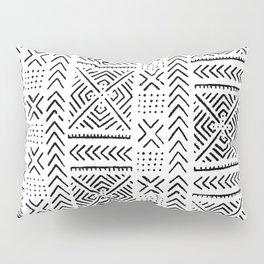 Line Mud Cloth Pillow Sham