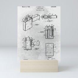 Pocket lighter Mini Art Print