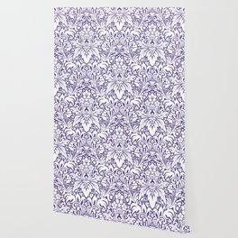 Odyssey Mandala Ultra Violet Wallpaper
