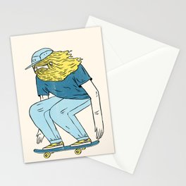 Skate Beard Stationery Cards