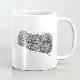 Owl Line Coffee Mug
