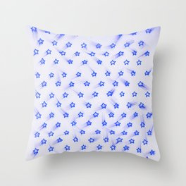 Estrellitas la la la Throw Pillow