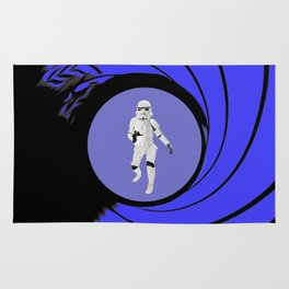 The name is Trooper, Storm Trooper Rug