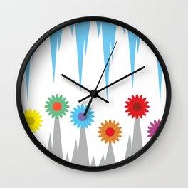 Flower #society6 #decor #buyart #artprint Wall Clock
