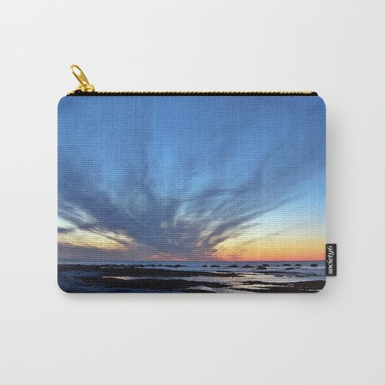 Cloud Streaks at Sunset Carry-All Pouch
