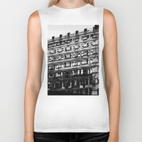 building Biker Tanks featuring Building by Tristan Tait
