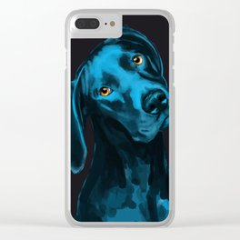 The Dogs: Riley B. Clear iPhone Case