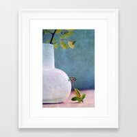 relax Framed Art Prints featuring RELAX :-) by Claudia Drossert