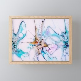 Three Undersea Flowers Framed Mini Art Print
