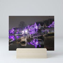 """BoatHouse Row"" Mini Art Print"