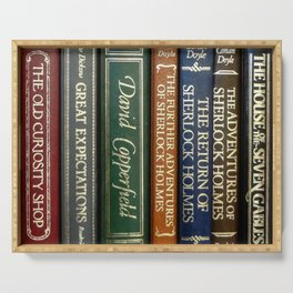 Books 2 Serving Tray