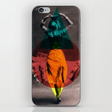 dance in shape iPhone & iPod Skin