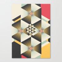 la Canvas Prints featuring La Plus by Danny Ivan