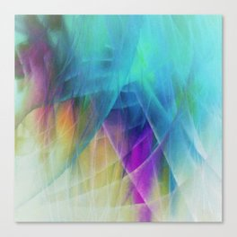 Filmy Things Canvas Print