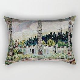 Emily Carr - Tanoo Rectangular Pillow