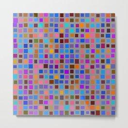 color rectangles 011 Metal Print