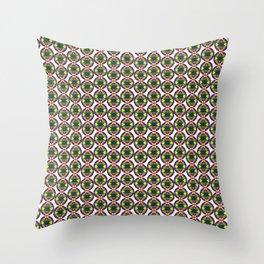 Festive Bead Strand  Throw Pillow