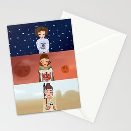 Star Ladies  Stationery Cards