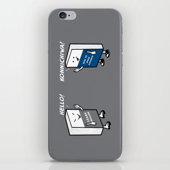 Say Hello iPhone & iPod Skin