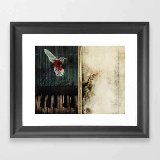 all that we leave behind Framed Art Print